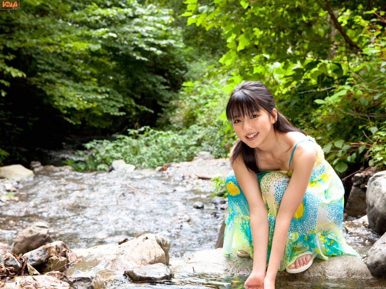 (最爱明星系列)真野惠里菜-小菜@bomb.tv杂志最新追加