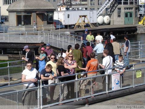 到西雅图观光(14):最繁忙的船闸 - 阳光月光 - 阳光月光