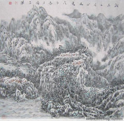 君子之貌   解读朱卫平先生山水画  - 真相追踪 - 湖南日报报业集团--刘树群