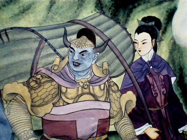 西游记人物:牛魔王,铁扇公主