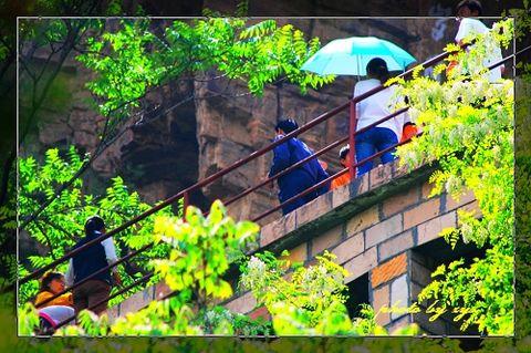 [原创]人间奇迹(01)河南林州红旗渠《》 - 自由诗 - 图说天下
