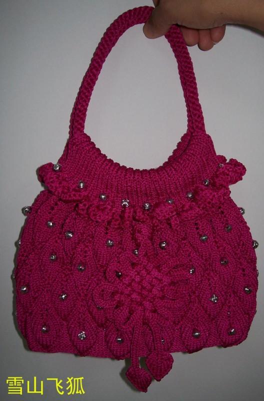 叶子手提包的编织方法 - lily - llhtourist 的博客