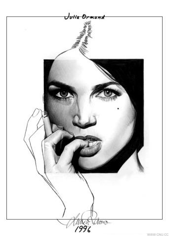 Laura Racero 优秀素描作品 - 綿 - 綿