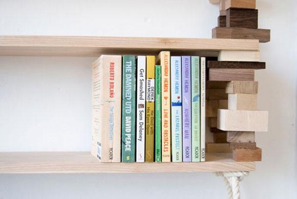 创意DIY积木书架 - 何泛泛 - 何泛泛|IT独唱团