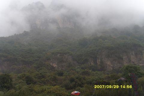 雨雾中的云台(原) - 微风 - 微风