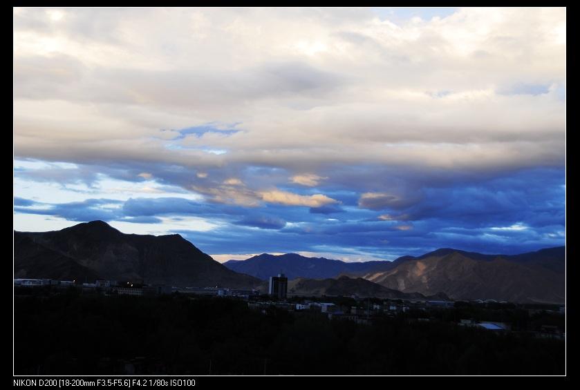 青藏高原之行____拉萨的早晨 - 西樱 - 走马观景