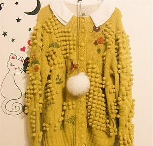 衣服刺绣-毛衣绣花