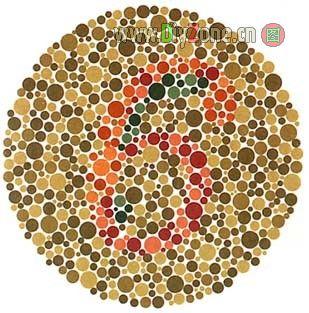 色盲、色弱测试图  - 史提芬邹 - 史提芬邹的博客