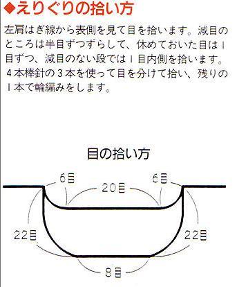 引用 两种起针方法和领口挑针 - pldlxn - 风征小屋