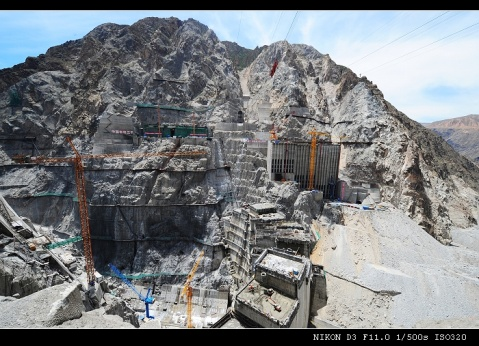拉西瓦水电站(上) - 野隼 - 在那遥远的地方