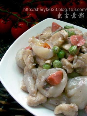 鸡鸭鱼肉*荔枝炒鸡丁 - 出尘素影 - 甜心煮饭婆