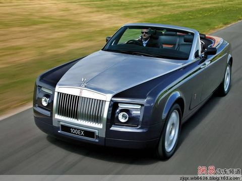 汽车品牌 宝马汽车公司之劳斯莱斯高清图片
