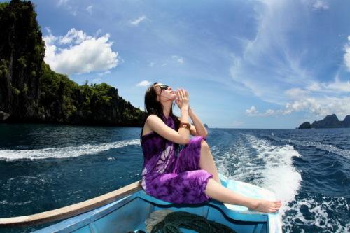 爱尼岛的美,让我流连忘返 - 燕燕 - 霍思燕 彦 色
