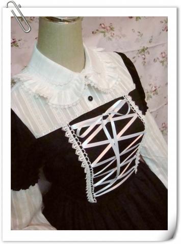 爱丽斯黑白版真人示范围裙版 - princutess - princutess