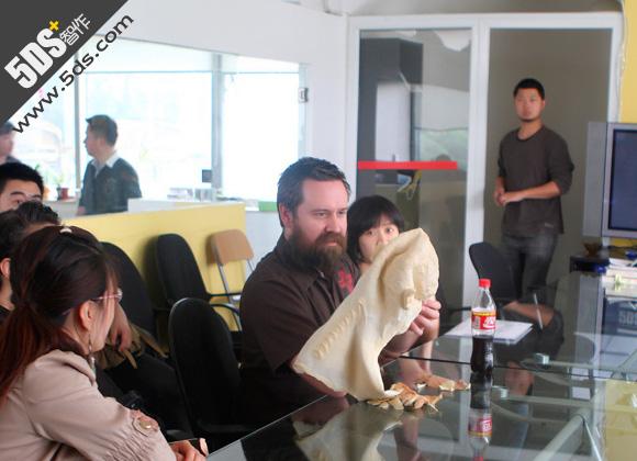 北京电影学院邀请阿凡达 概念设计师葛雷格与宋洋座谈 - songyangart - 宋洋的漫画世界