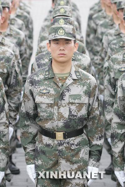 陆军军官长袖夏常服-解放军最新版军装图片