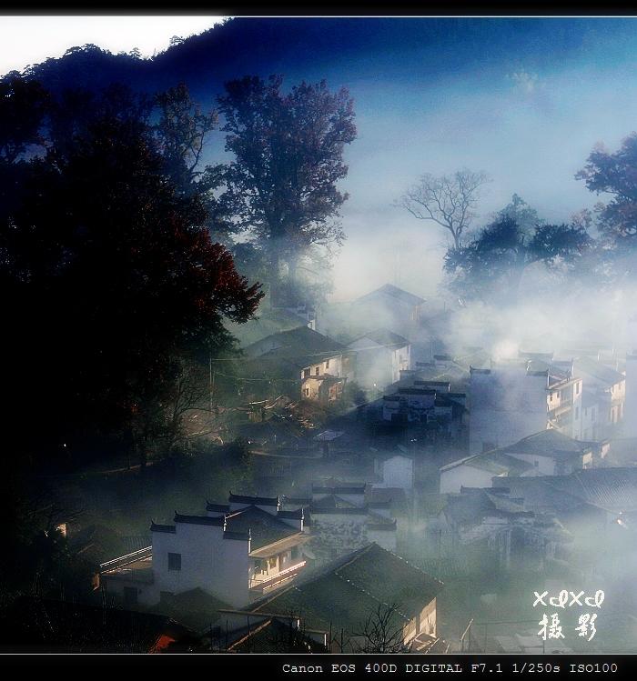 【三进婺源】石城秋色 - xixi - 老孟(xixi) 旅游摄影原创作品