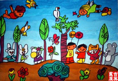 童心的空间____小学生美术作品图片