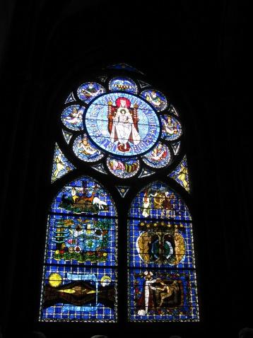 教堂窗花图片