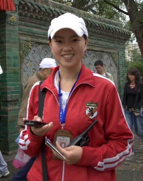 西宁印象(三)之塔尔寺与中国第一美女导游 - xt5999995 - 赵文河的博客