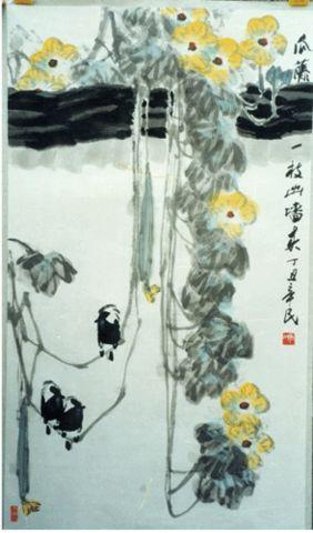 《激扬的水墨图景——齐辛民先生的花鸟画艺术》作者: 徐恩存  - 小语 - 语画心池