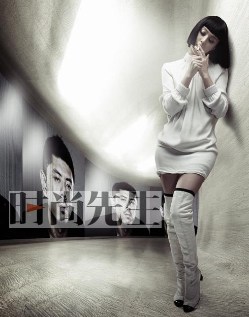 时尚先生年度女人——范冰冰在2050 - 《时尚先生》 - hiesquire 的博客