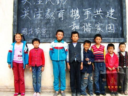 即将沦陷的乡村小学---民勤【林子】 - 西部旅行者 - 在贫困中寻找力量