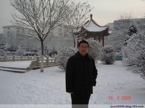 久旱太原喜降中雪有作 - 张希田 - 我们的理想在希望的田野上