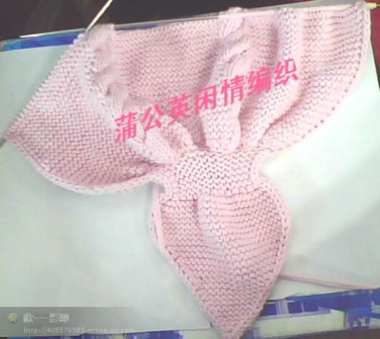 蝴蝶花马甲的编织图解 - 梅兰竹菊 - 梅兰竹菊的博客
