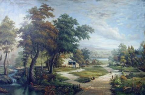 欧洲古典风景油画〔欣赏〕