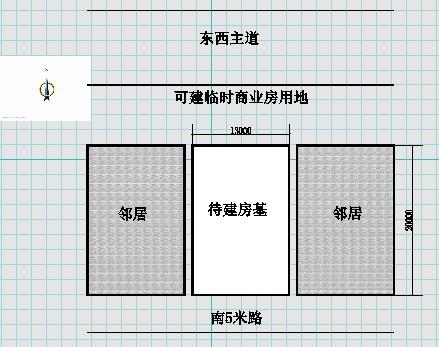 一层平房7间带车库平面设计图