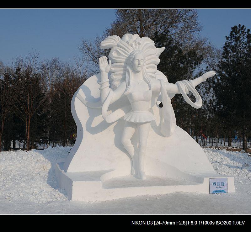 银白假期___没啥好看的雪雕 - 西樱 - 走马观景