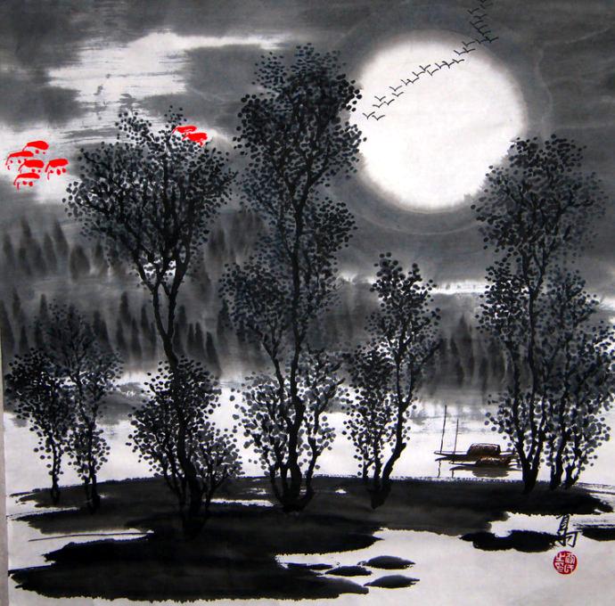 [转载]月是故乡明