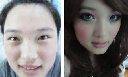 """别再""""妆""""了 网拍大美女卸妆变路人甲 - 造型师吕选明 - 造型师"""