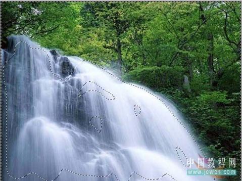 制作瀑布流动的教程 - 草木一秋 - 豪 戈 的 博 客