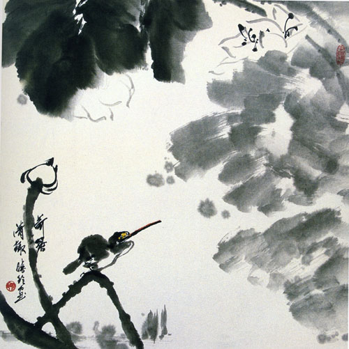 石晓玲花鸟国画作品欣赏(转帖) - 陶农 - 元 大 志 长