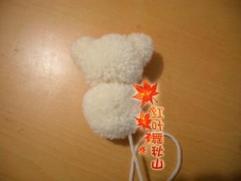 剩余毛线制作的小熊  - 平凡药药 - 所谓伊人,烟花飞坠……