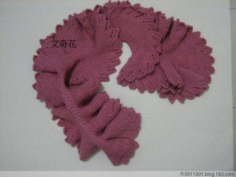 引用 - 雅緻圍巾, 12月10日完成 - 文奇花 - 一方天地, 自娛自樂