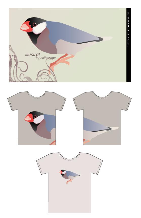 画了一只小文鸟 - 崇子 - 崇子潘斯特