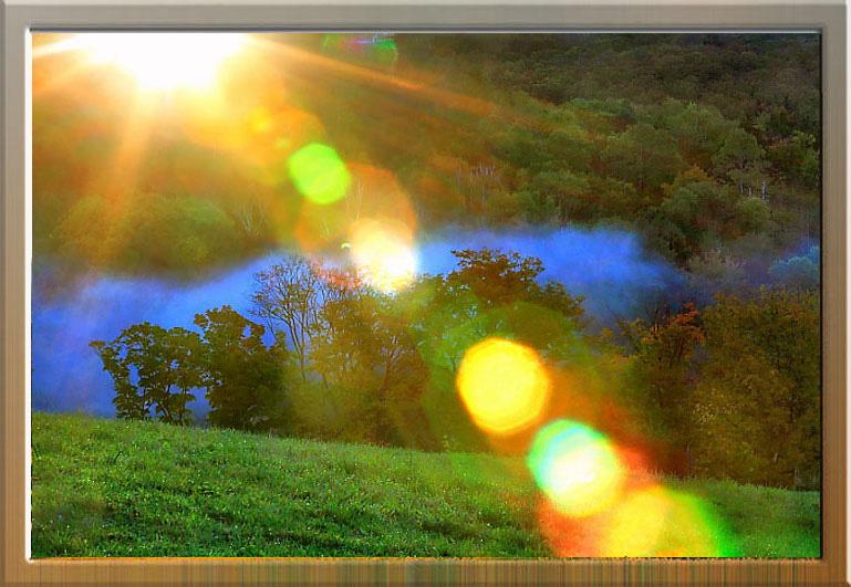 【引用】〔沧海作品〕绝色美景--雾笼秋浓 - 隆里奇 - 隆 里 奇 说 事