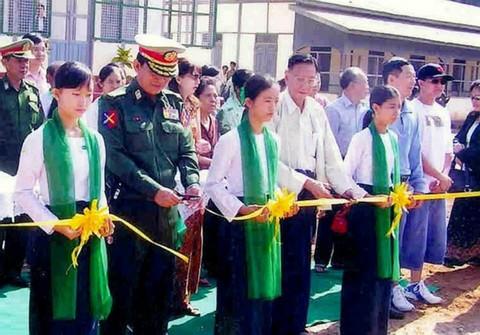 刘有义先生捐巨资  建校舍培育英才 - 厦门缅甸归侨联谊会 - 缅华同侨之家