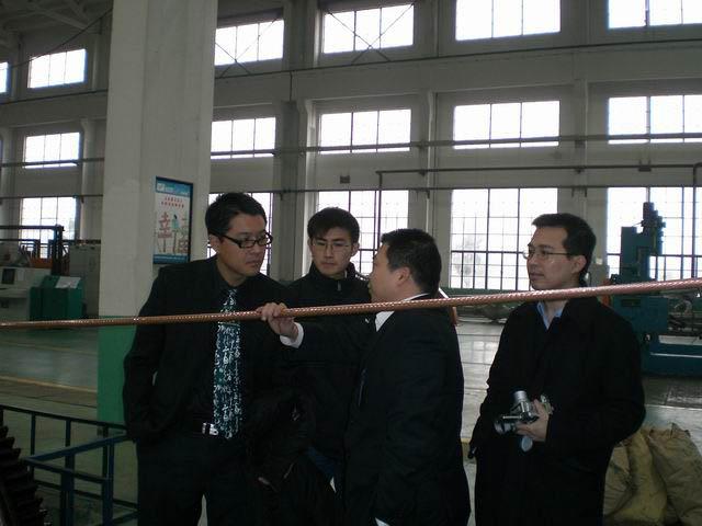 博友李秉光博士来访远东 - 远东蒋锡培 - 远东蒋锡培