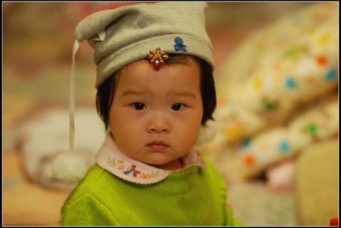 帽子小了,贝贝大了 - 贝贝的爸妈 - 贝贝的爸妈