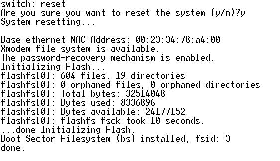 cisco 2960在配置不变的情况下密码恢复 - 强者恒强 - 今天要比昨天更强