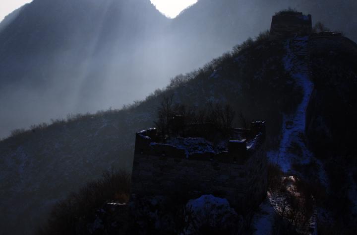 (原创摄影)箭扣长城冬日之四 - 刘炜大老虎 - liuwei77997的博客