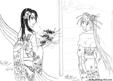 【原创漫画】09-1 - 厉鬼巢_Ф - Oni nestt_Ф 厉鬼づ巢