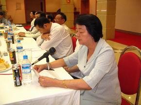 驻缅甸使馆召开胡锦涛总书记关于两岸关系重要讲话座谈会 - 仰光缅华互助会 - 缅华互助会