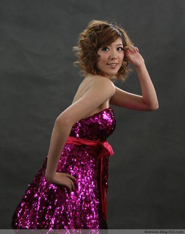 拍模特 - Linda  Tong - 青山绿水伴夕阳  南山悠然觅春光