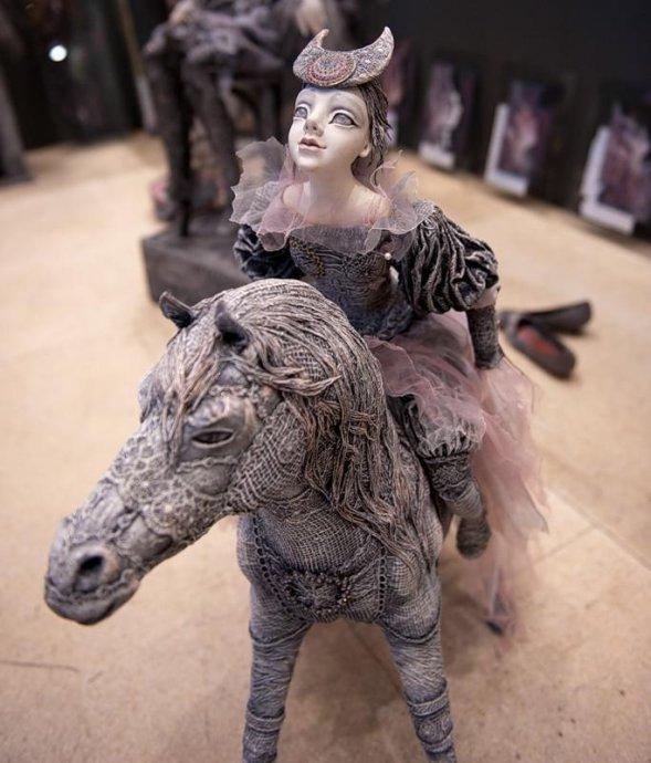 世界最大玩偶展莫斯科开幕,各色玩偶展示不同文化(组图) - 刻薄嘴 - 刻薄嘴的网易博客:看世界