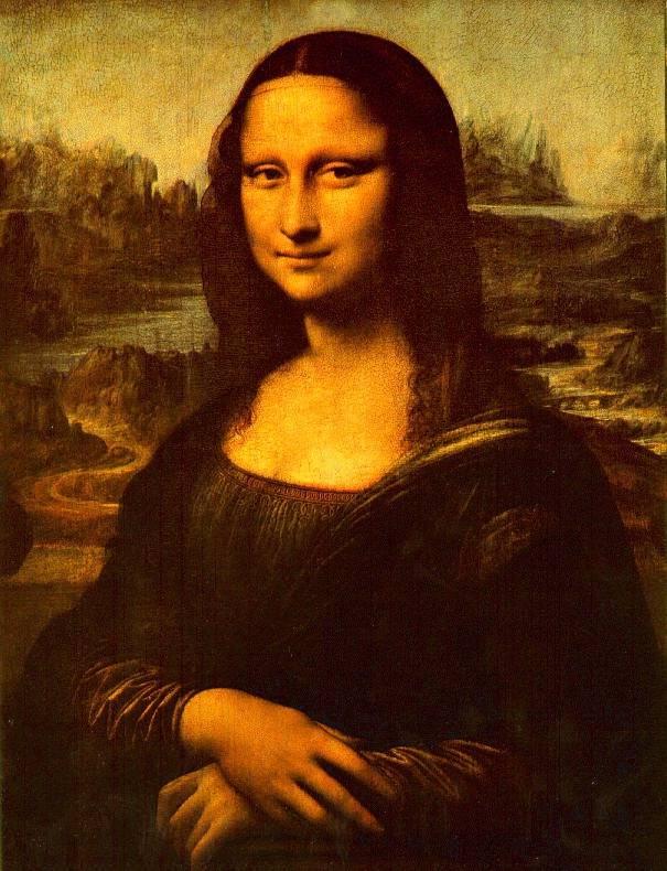 天下第一笑:蒙娜丽莎的文化密码 - 朱大可 - 朱大可的博客